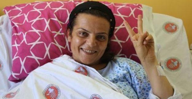 Tedavisi tamamlanmadan tutuklanan Sibel Çapraz'ın sağlık durumu kötüye gidiyor