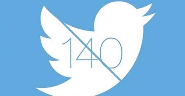 Twitter'da karakter sınırlaması değişiyor