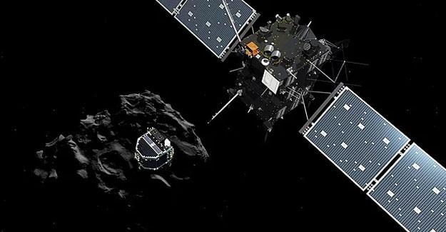Uzay aracı Rosetta, kuyruklu yıldıza çarparak görevini sonlandırdı