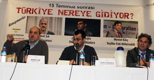 Ahmet Şık: AKP'nin asıl kendisi Türkiye'yi bölüyor