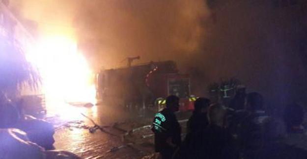 Antep'te fabrika yangını: 7 yaralı