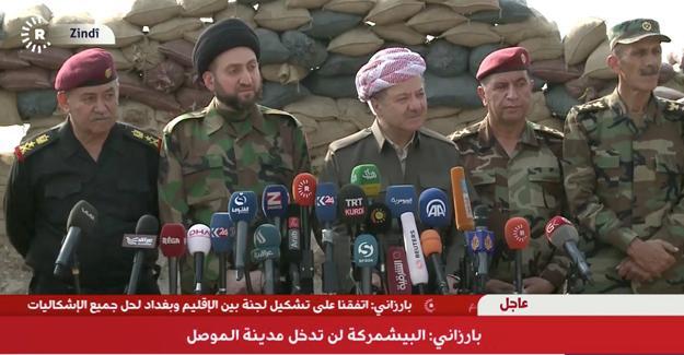 Barzani: ABD için değil kendimiz için savaşıyoruz