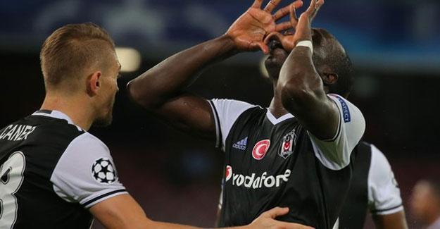 Beşiktaş Napoli'yi 3-2 yendi