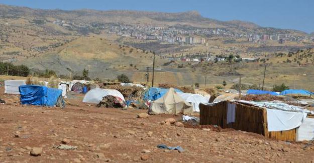 Çadırdaki Şırnaklılara helikopterden ateş açıldı iddiası