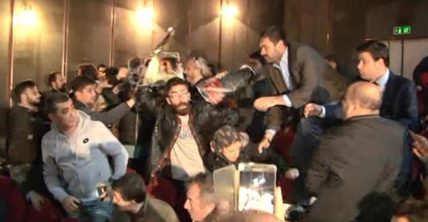 CHP'nin İslam sempozyumunda 10 Ekim'i ananlar gözaltına alındı
