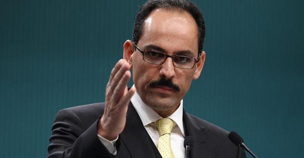 Cumhurbaşkanlığı Sözcüsü'nden Irak açıklaması