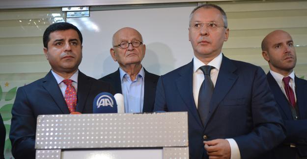 Demirtaş: Bugün diktatörlüğün önündeki tek engel HDP'dir