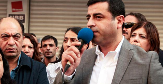 Demirtaş: 'Erdoğan padişahımızdır' demeyen terörist ilan edilmiş durumda