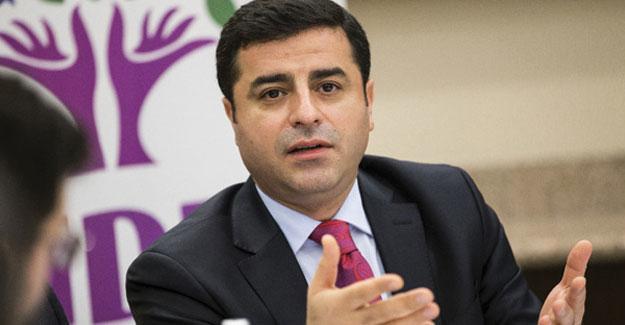 Demirtaş'tan 'başkanlık' açıklaması: Tek adamlık karşısındaki duruşumuz belli