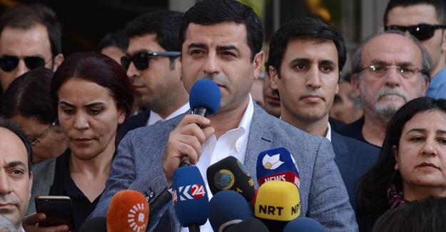 Demirtaş: Teröre destek veren arıyorsanız Ankara'ya İstanbul'a bakın