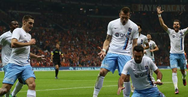 Galatasaray-Trabzonspor maçı sona erdi