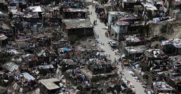 Haiti'de  ölü sayısı 478'e yükseldi