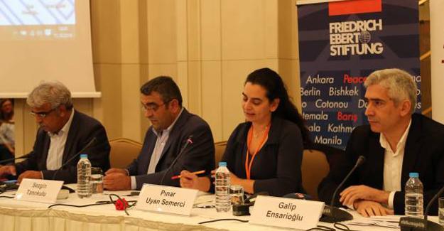 HDP'li Mithat Sancar: İmralı kapısı barışa açılan kapıdır