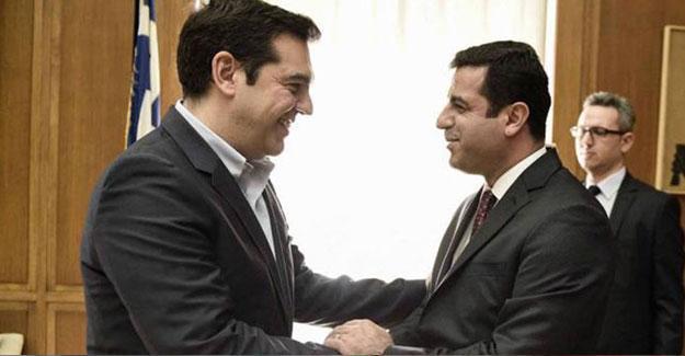 HDP, SYRİZA kongresine katılacak
