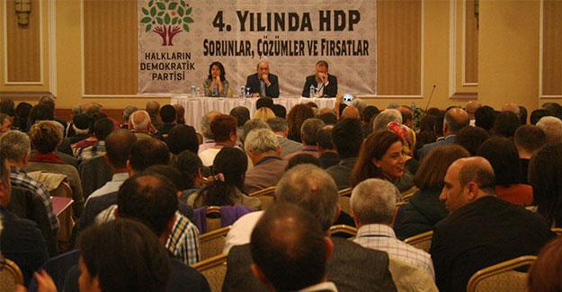 HDP'liler 'tarihi' toplantı için Ankara'da buluştu