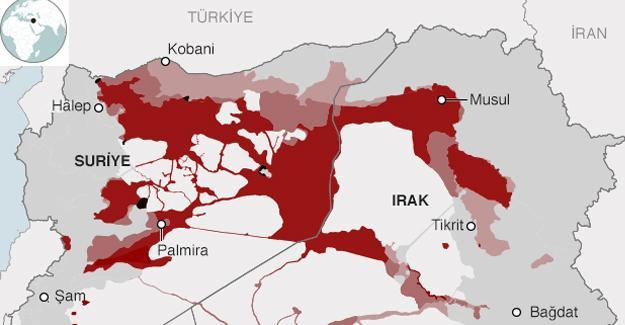 IŞİD işgal ettiği toprakların 'dörtte birden fazlasını kaybetti'