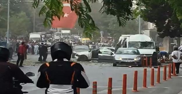 İstanbul'da karakola saldırı: Yaralılar var