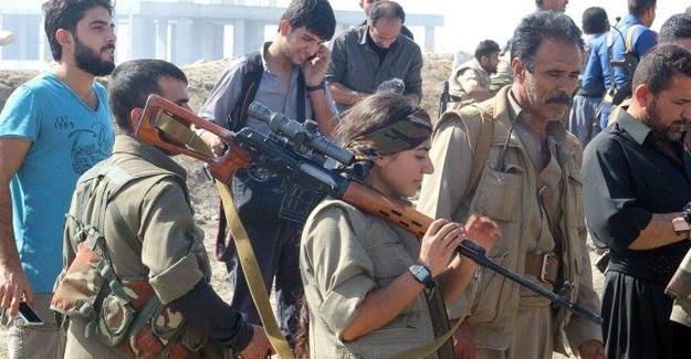 Kerkük'teki çatışmalarda PKK'liler de yer aldı