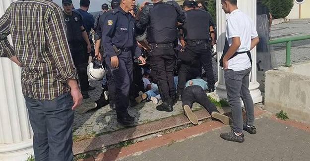 Kocaeli Üniversitesi'nde ırkçı saldırı: 34 öğrenci gözaltında