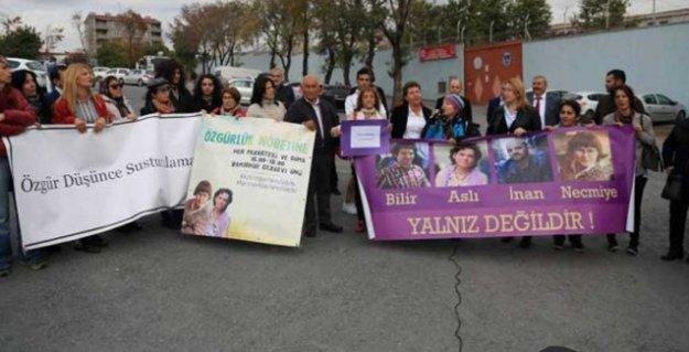 'Özgürlük Nöbeti'ni CHP'liler devraldı