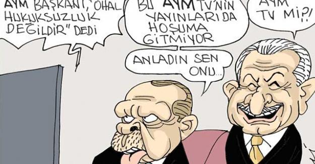 Sefer Selvi, AYM Başkanı'nın OHAL açıklamasını çizdi