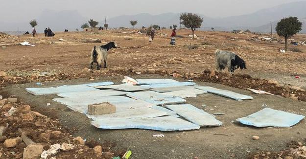 Şırnak'ta Toptepe ve İkizce'deki çadırlar da yıkılıyor!