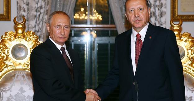 """""""Türk Akımı"""" anlaşması imzalandı; Erdoğan ve Putin'den ortak açıklama"""
