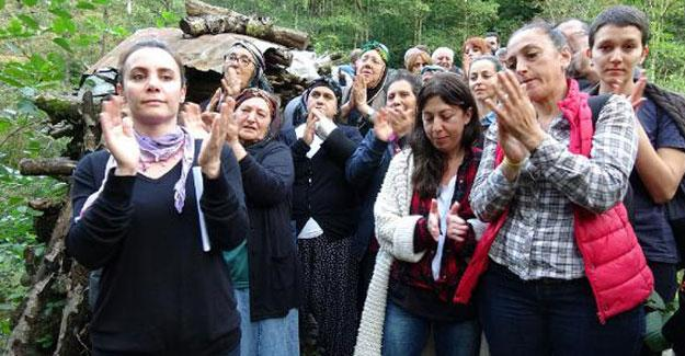 Yeşil Yol'a kadınlardan tepki: Buraları sahipsiz sanmasınlar