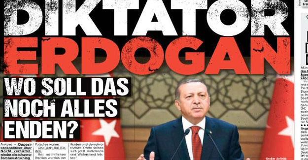 Alman Bild gazetesi: Diktatör Erdoğan, sırada ne var?