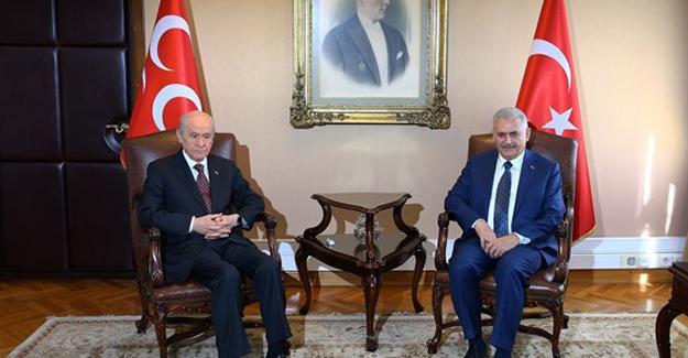 Anayasa teklifine ilişkin rapor Bahçeli'ye sunuldu