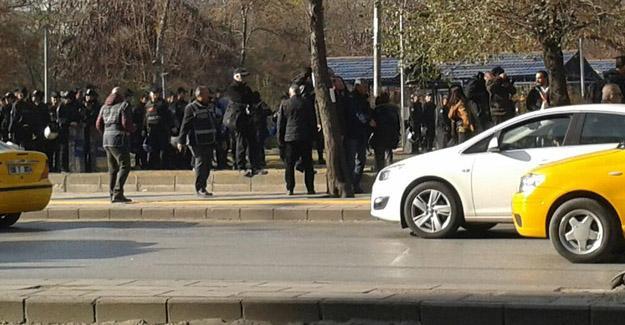 Ankara'da kadın eylemine polis saldırısı