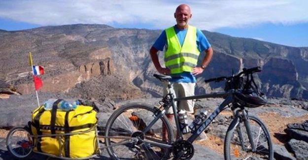 Bisikletiyle 40 ülke gezdi, Türkiye'de araba çarptı, sanık para cezasıyla serbest
