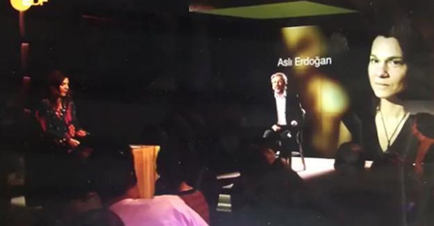 Can Dündar Alman ZDF kanalında Aslı Erdoğan ve Ahmet Altan'ın mesajını okudu