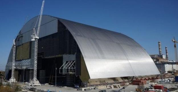 Çernobil'in reaktörüne çelik kalkan