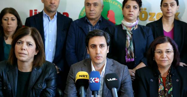 DBP'li Yüksek: Mücadelemiz sürecek ve AKP'ye teslim etmeyeceğiz bu alanları