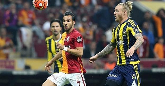Kadıköy'de gelenek bozulmadı: Fenerbahçe-2 Galatasaray-0