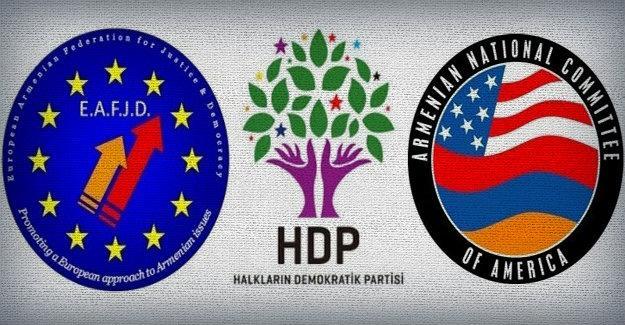 Diasporalı Ermeniler HDP'li vekillerin tutuklanmasına tepkili
