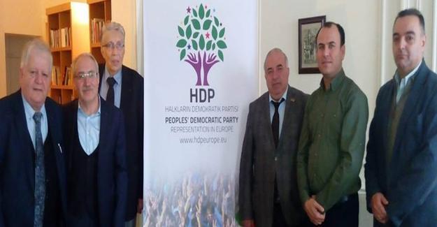Ermeni heyetten HDP'ye destek ziyareti