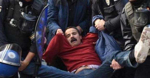 Nuriye Gülmen'e destek veren Veli Saçılık darp edilerek gözaltına alındı