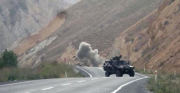 Hakkari'de havanlı saldırı: 1 asker hayatını kaybetti