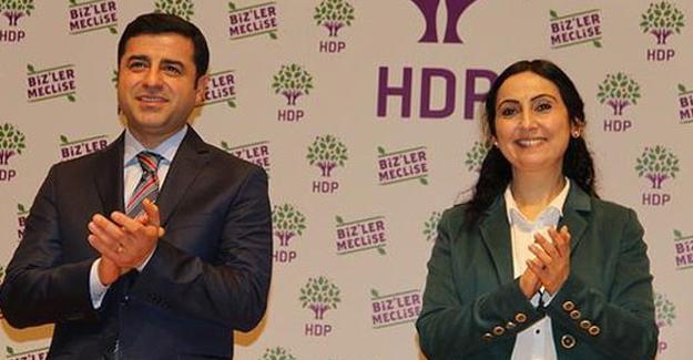 HDP Eş Genel Başkanları Demirtaş ve  Yüksekdağ için AYM'ye başvuru