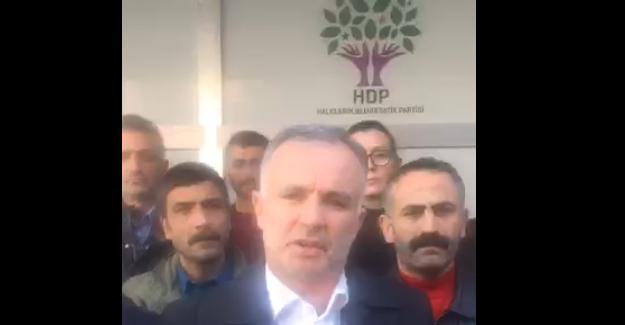 HDP Genel Merkezi'ne basın alınmadı, açıklama sokakta yapıldı