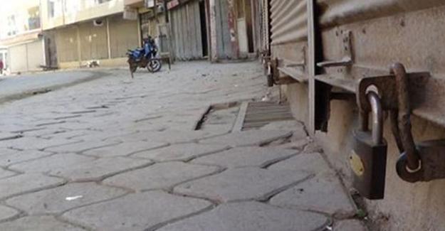 Iğdır'da HDP operasyonlarına protesto: Kepenkler açılmadı