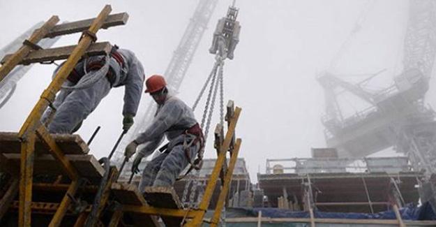 İnşaat sektörü güven endeksinde sert düşüş