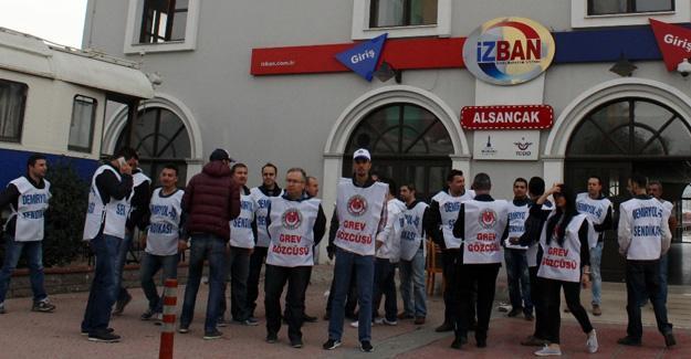 İZBAN grevinde Ankara zirvesi