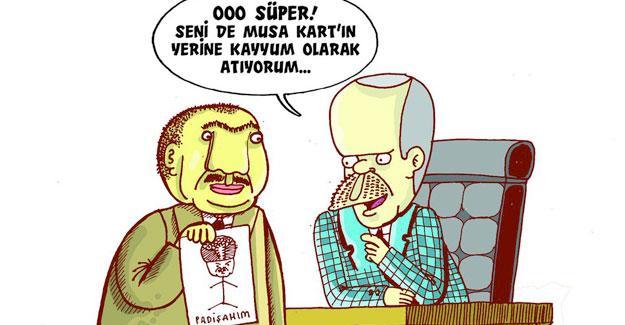Leman, Erdoğan'ın Musa Kart'ın yerine atayacağı kayyumu çizdi