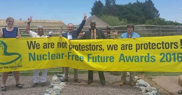 Nükleersiz Gelecek Ödülleri Güney Afrika'da verildi
