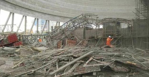 Santral inşaatı çöktü: 40 ölü