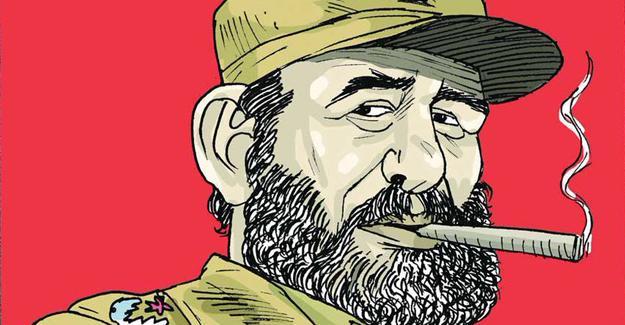 Sefer Selvi, Fidel Castro'yu çizdi