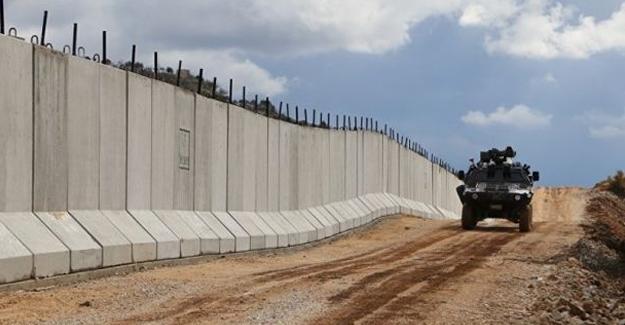 Tel Abyad-Akçakale sınırına duvar örülüyor